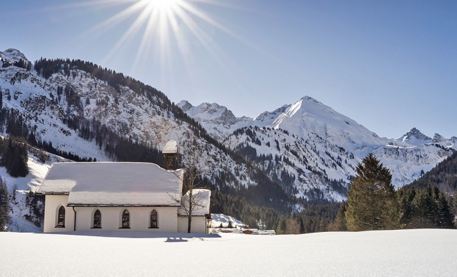 Advent in den Bergen