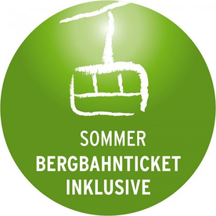 Bergbahntickets inklusive